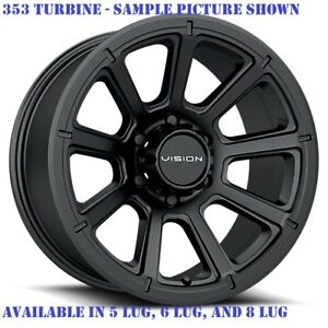 4 New 17 Wheels For Dodge Ram 2500 3500 Truck Hummer H2 Rims 21887