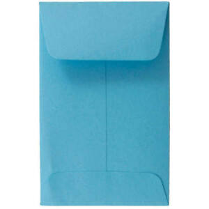 Shatter Envelope 2 1 4 X 3 1 2 500 Pack Blue 1 Coin Size 60 Stock