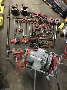 Rigid 300 Threader Extra Heavy Geared And Assorted Rigid Tools