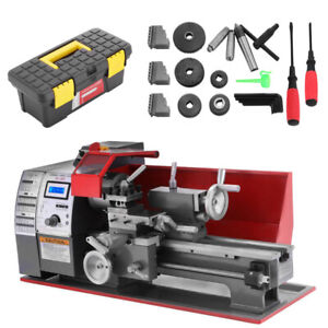 Brush Motor Mini Metal Lathe Woodworking Tool Milling Bench Top Machine Dc Motor