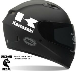 Helmet Decals 2 Kawasaki Motorcycle Helmet Decals Sticker