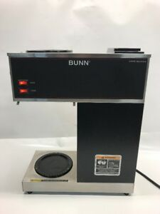 Bunn Vpr Series Model Vpr Blk W 2 Warmers Used In Good Condition