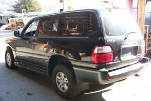 Driver Left Tail Light Tailgate Mounted Fits 98 02 Lexus Lx470 241506