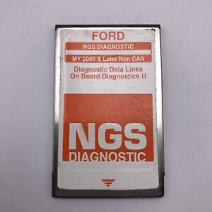 Ford Rotunda Ngs Diagnostic Orange Software Card 2005 Later Non Can Obdii