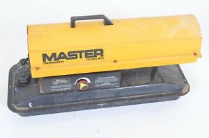 Master Thermostat 70 000 Btu Forced Air Kerosene Heater Model B70bt Portable