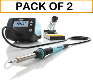 2 pack Weller We1010na Digital Soldering Station