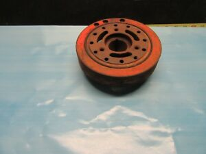 1965 1972 Chevy 396 402 427 Harmonic Balancer 7 New Old Stock Rust Surface Par