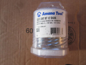 Amana Tool Router Bit 55388 Glue Joint Bit New