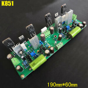 two channel K851 Fever Class Large Current Fet Discrete Power Amplifier Board