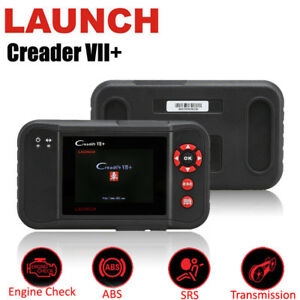 Free Update Launch Creader Vii Auto Diagnostic Scanner Crp123 Abs Srs Airbag