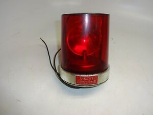 Federal Sign And Signal Model 121a Beacon Ray Vitalite 12v