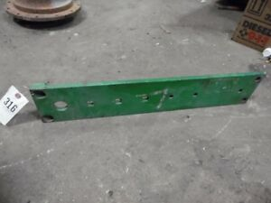John Deere 1020 Tractor Engine Left Frame Rail Tag 316