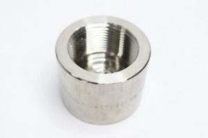 Lot Of 24 Stainless Weld on Coupling Socket A sa182 F304l Hn0411b16 3m 1 1 4
