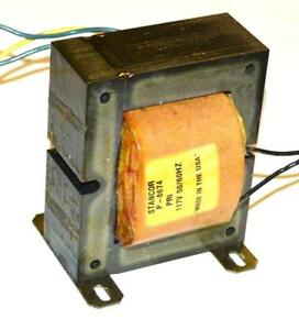 Stancor P 8674 Transformer 117 Volts Primary 36 Vct 6 Amps Secondary