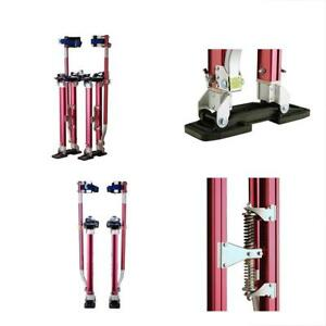 Material Handling Products Pentagon Tool Professional 18 30 Red Drywall Stilts