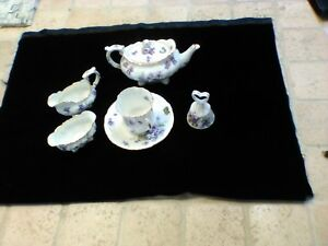 Antique Tea Set Porcelain Post 1940 Excellent Condition