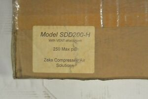 Zeks Sdd200 h 638428 Pneumatic Drain With Vent Attachment New