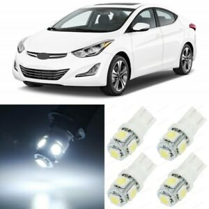 10 X White Interior Led Lights Package For 2011 2016 Hyundai Elantra Tool
