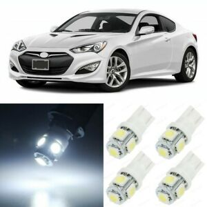 10 X White Interior Led Lights Package For 2010 2016 Hyundai Genesis Coupe Tool
