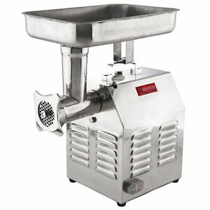 Avantco Commercial Electric Meat Grinder 1 1 2 Hp Heavy Duty Restaurant Machine