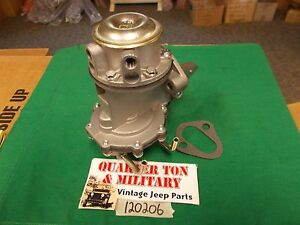 Fuel And Vacuum Pump Combo Fits Jeep Willys 134l 134f Willys Jeep