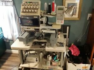 Toyota 860 Commercial Embroidery Machine Plus Much More