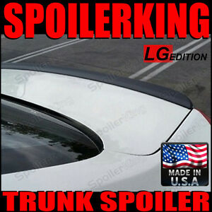 rear Trunk Lip Spoiler Lg Style Wing Mitsubishi Lancer 2007 present