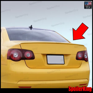 244l Volkswagen Jetta V 2005 2010 Rear Trunk Add On M3 Style Lip Spoiler Wing