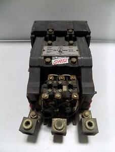Westinghouse Size 5 Ac Contactor Starter Gca 530