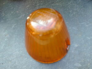 Vintage Car Light Indicator Light Glass Cap Hella Nw Ke