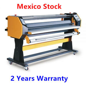 Mexico 67 Stand Frame Full auto Single Side Wide Format Hot cold Laminator