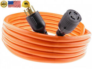 Nema L14 30 40 Feet Generator Power Cord 4 Wire 10 Gauge 125 250v 30 Amp