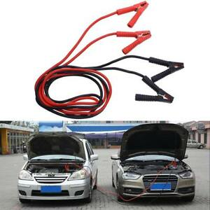 Heavy Duty Battery Jump Start Cable 1800amp 3m Long Jump Leads Car Van Booster