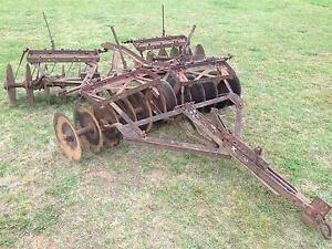 10a 7 Genuine Ih International Harvester Farmall Super A 140 Disk Harrow Disc