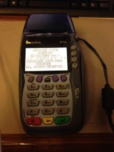 Verifone Vx570 Omni 5700 Credit Card Machine With Power Cord
