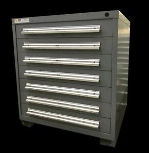 Stanley Vidmar 7 Drawer Industrial Tool Cabinet 30 X 27 5 X 33 3 Available