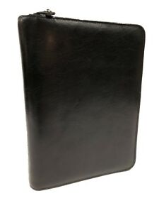 Classic Franklin Covey Day Planner Personal Organizer Full Grain Calf Leather