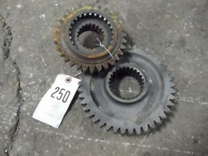 International Harvester 1066 Tractor 3 4 Gear Set Tag 250