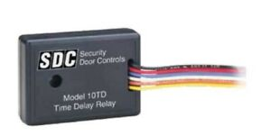 Sdc 10td Time Delay Relay Module Field Adjustable 1 60 Second Mini Time Delay