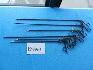 R Wolf Surgical Laparoscopic 5mm Monopolar Instruments Lot Of 6