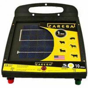 Zareba 10 mile Solar Low Impedance Fence Charger
