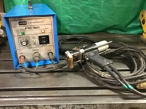 Agm 600 Ss Portable Pin Stud Welder 120v 15a With Stud Gun