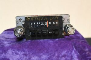 1974 Granada Philco Vintage Car Audio Radio Old Original