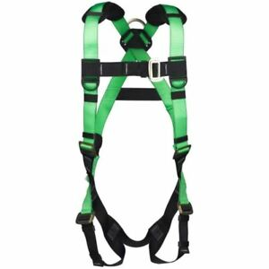 New Safety Harness Back D ring Premium Body Fall Protection Vest style Harness