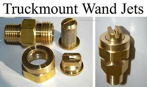 Carpet Cleaning Truckmount Wand Jets Assembly set Of 2