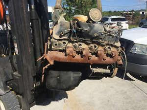 6 2 Gm Chevy Diesel Engine Motor Military Truck