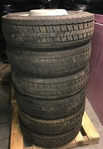 2005 2017 Ford F550 Super Duty 19 5 Steel Wheels And 225 70 R19 5 Tires Nto s