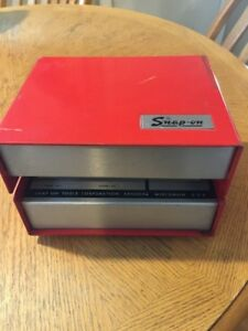 Snap On Mt 414 Vintage Primary Tach And Dwell Meter very Good Condition