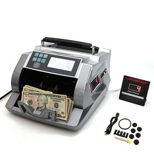 Elite Money Bill Currency Counter Counting Machine Counterfeit Detector Uv Mg