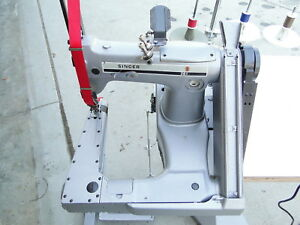 Singer 261 2 Needle Feed off the Arm Chainstitch Industrial Sewing Machine